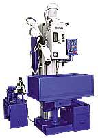 column drilling machine with hydraulic feed