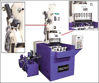 hydraulic feed column drilling machine